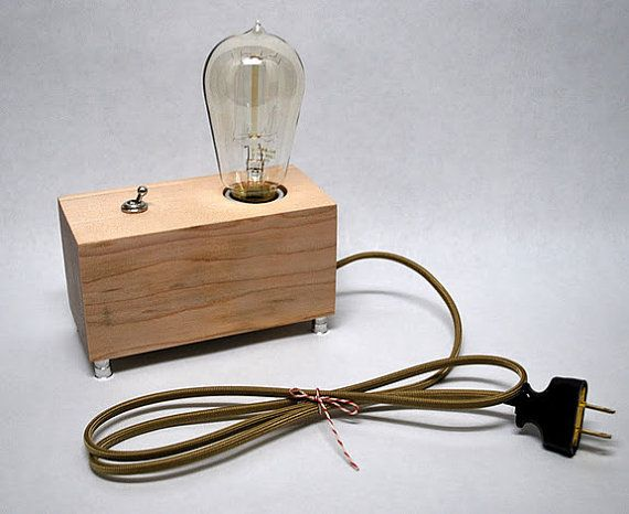 menlo park edison lamp from the dapper llama bulb pinterest