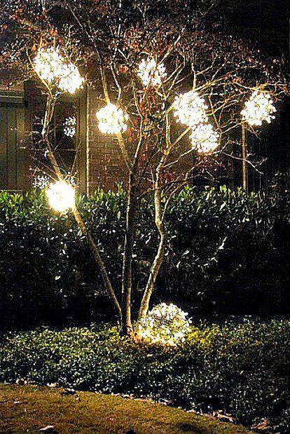 18 Magical Christmas Yard Decoration Ideas Outdoor Christmas Christmas Decorations Diy Outdoor Outdoor Christmas Diy