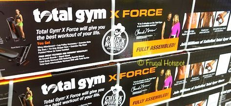 total gym xforce