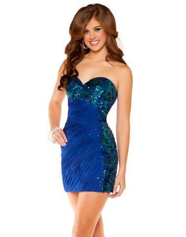 Mac Duggal Homecoming Dress 6382N at frenchnovelty.com