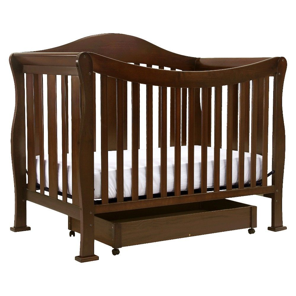 DaVinci Parker 4-in-1 Convertible Crib with Toddler Rail ...