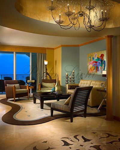 Warm Modern Living Room Ideas: 05 Warm Modern Highrise Living Room