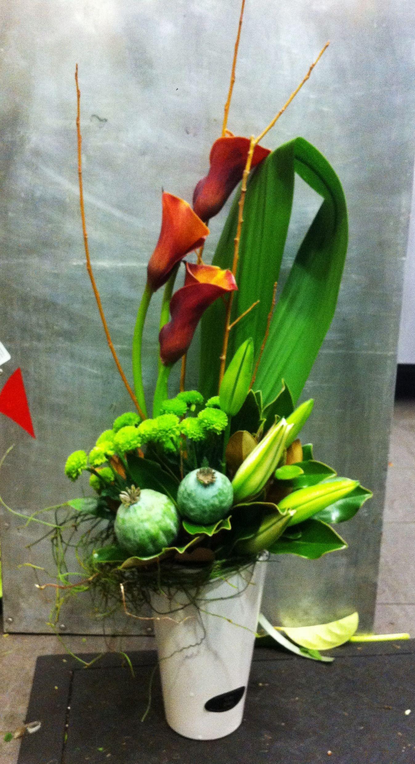 Bright corporate flowers