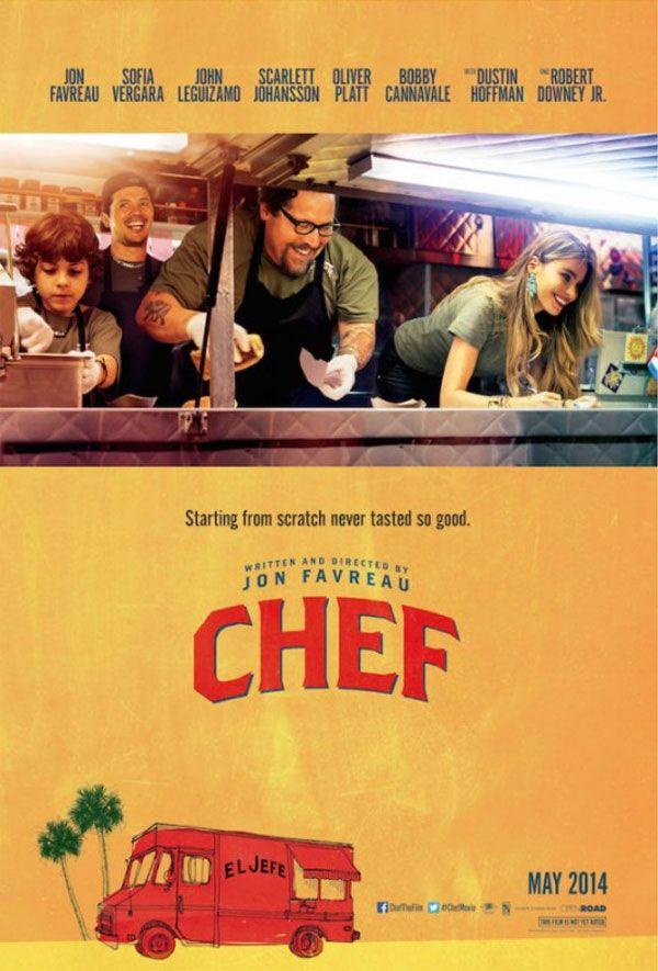 O Filme Chef Teve Divulgado Trailer E Cartaz Com Imagens