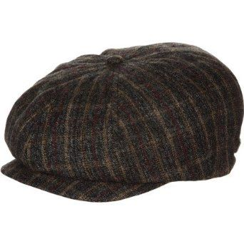 6c59de3c59ca9 Amazon.com  Brixton Men s Brood Cap  Clothing Newsboy Cap