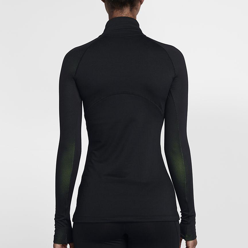 879aec43a Nike Pro HyperWarm Women's Long Sleeve Training Top | VOLT ...