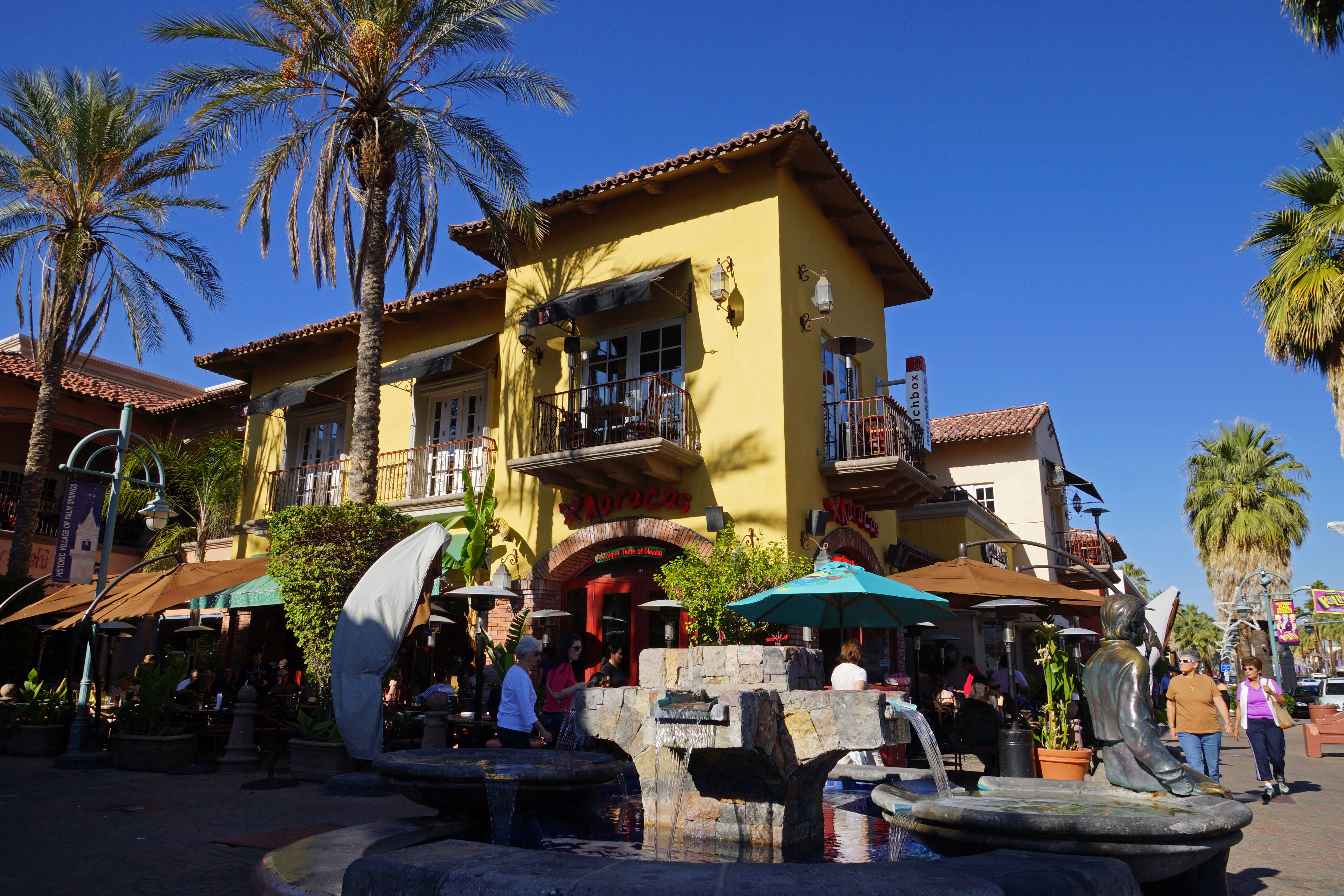 Great Mexican Food And Outdoor Dining At Maracas In The