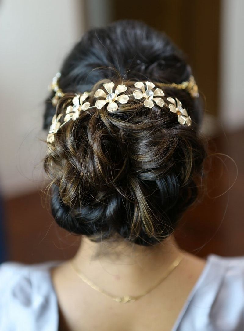 latest bridal hair brooch inspiration | indian wedding