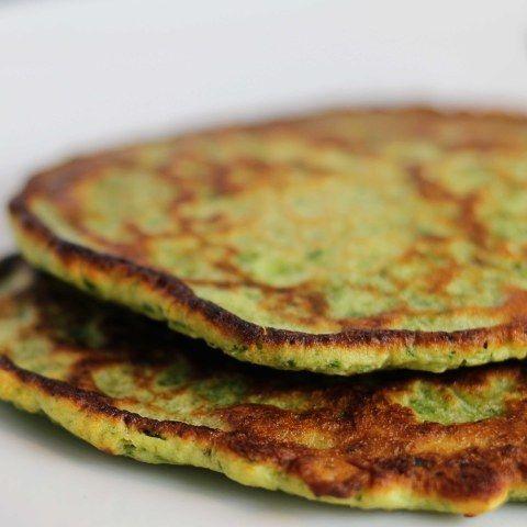 savory green potato pancakes