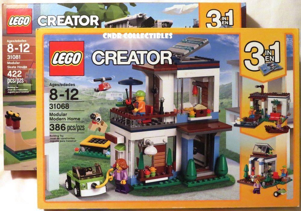 Lego Creator 3-in-1 31068 Modular Modern Home New//Sealed Free Shipping
