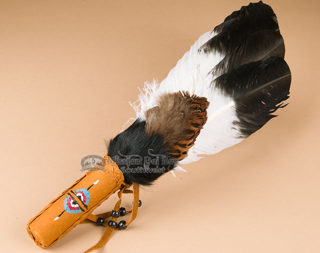 how to make a feather fan for smudging