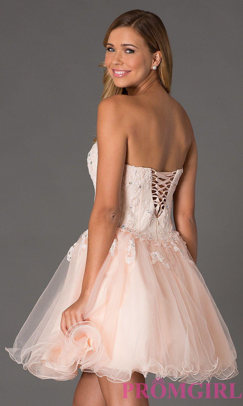 corset style prom dress Style: NA-6032 Back Image   prom dresses ...