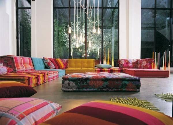 Pin von Rachel Blumer auf Interiors Pinterest Das zuhause - luxus wohnzimmer dekoration