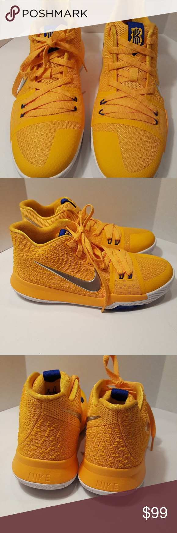 on sale e8eae 1e0ff Nike Kyrie 3 GS 859466 791 sz 7Y ITEM  NIKE KYRIE MAC AND CHEESE SIZE