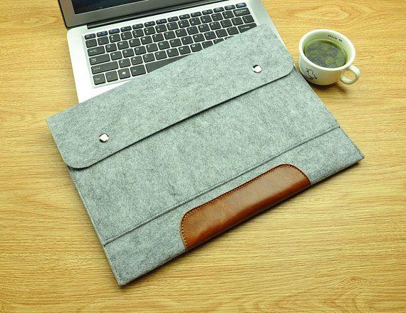MacBook Air 13inch Bag, MacBook Air 13inch Cover, MacBook Air 13inch Sleeve, MacBook Air 13inch Case, Laptop bag--TFL048