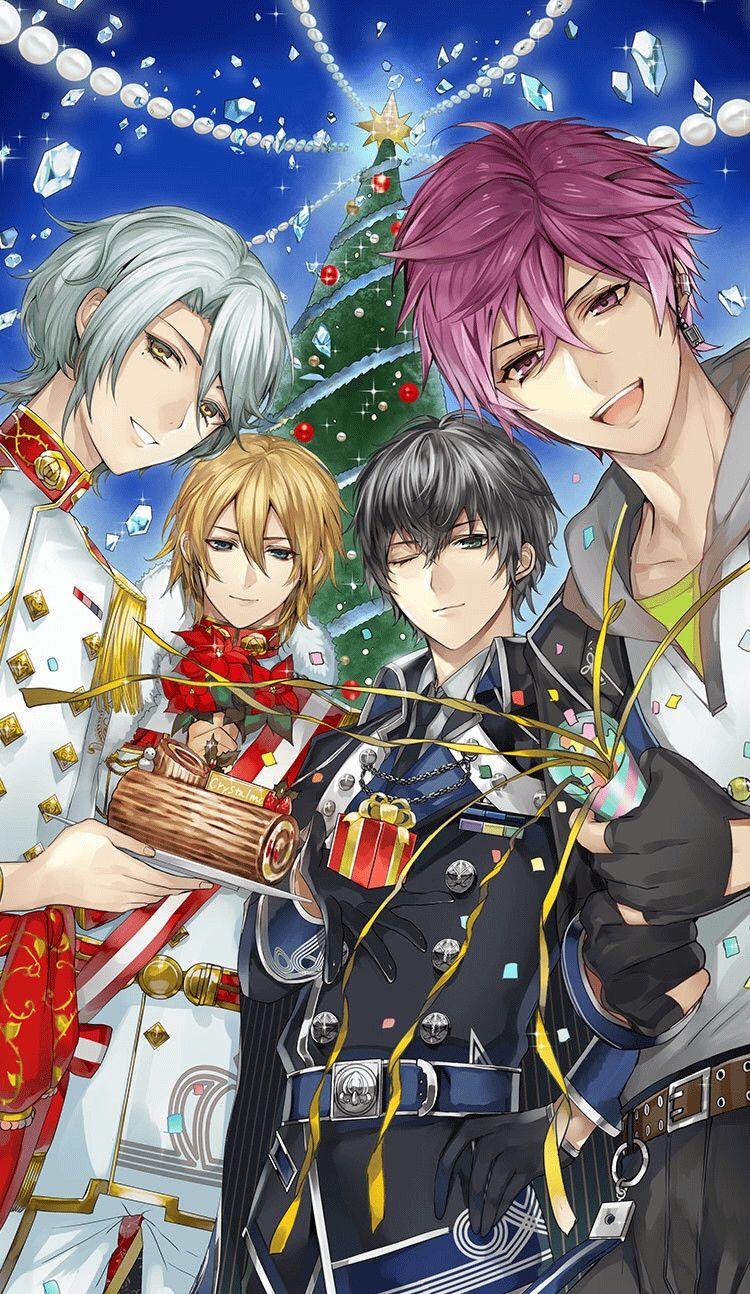 Anime christmas ikemen revolution pinterest anime anime guys