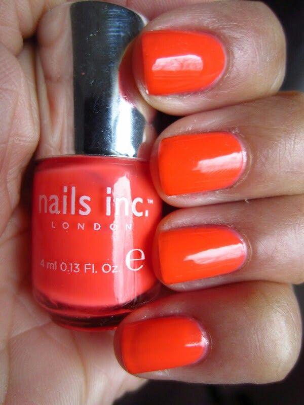 orange #nails