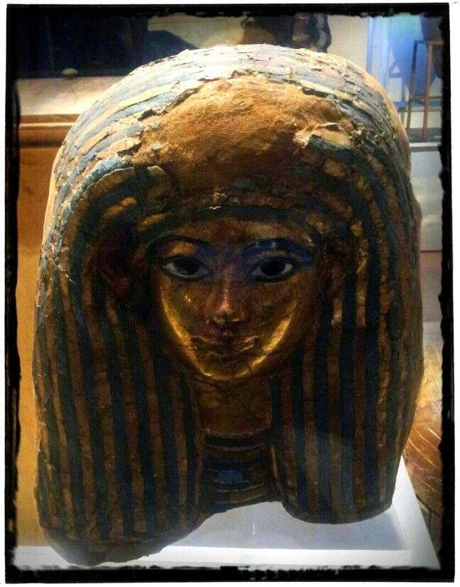 Gold Sarcophagus Mask Of Meryt Wife Of The Architect Kha