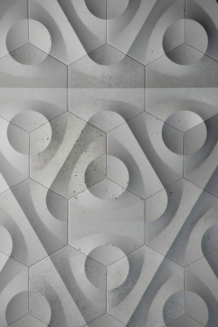 Blue Circle Embossed Debossed Geometry Grey Rounded Texture Tiles Triangle Wall