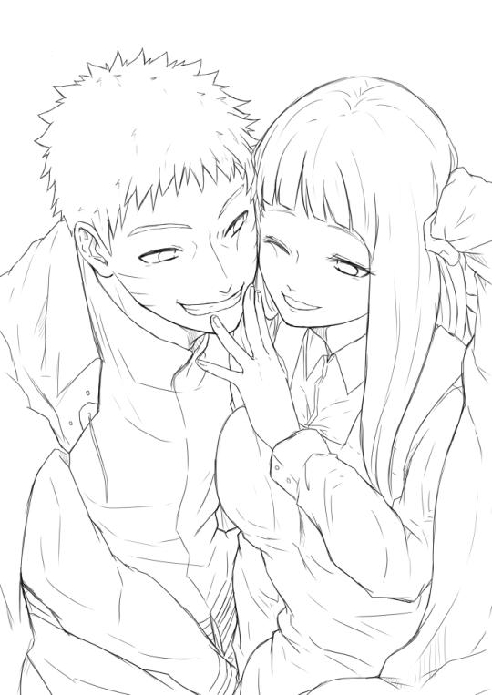 Anime naruto personagens naruto e hinata uzumaki naruhina dessin manga manga naruto - Dessin naruto manga ...