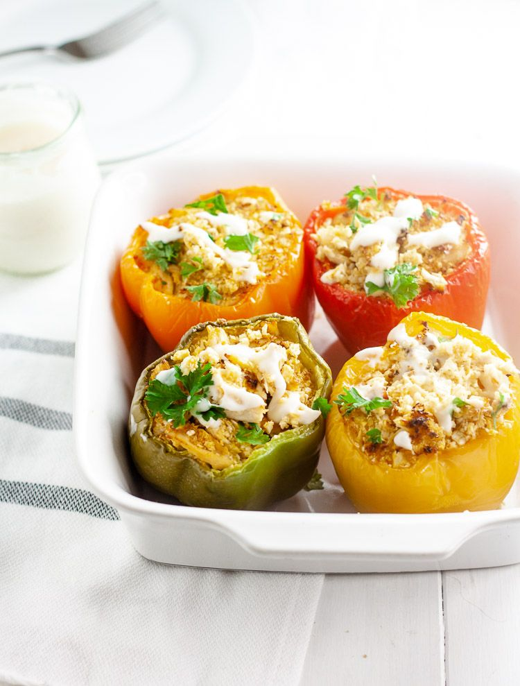 Buffalo Chicken Stuffed Peppers Kate S Lyon Recipe Stuffed Peppers Buffalo Chicken Stuffed Peppers Health Dinner Recipes