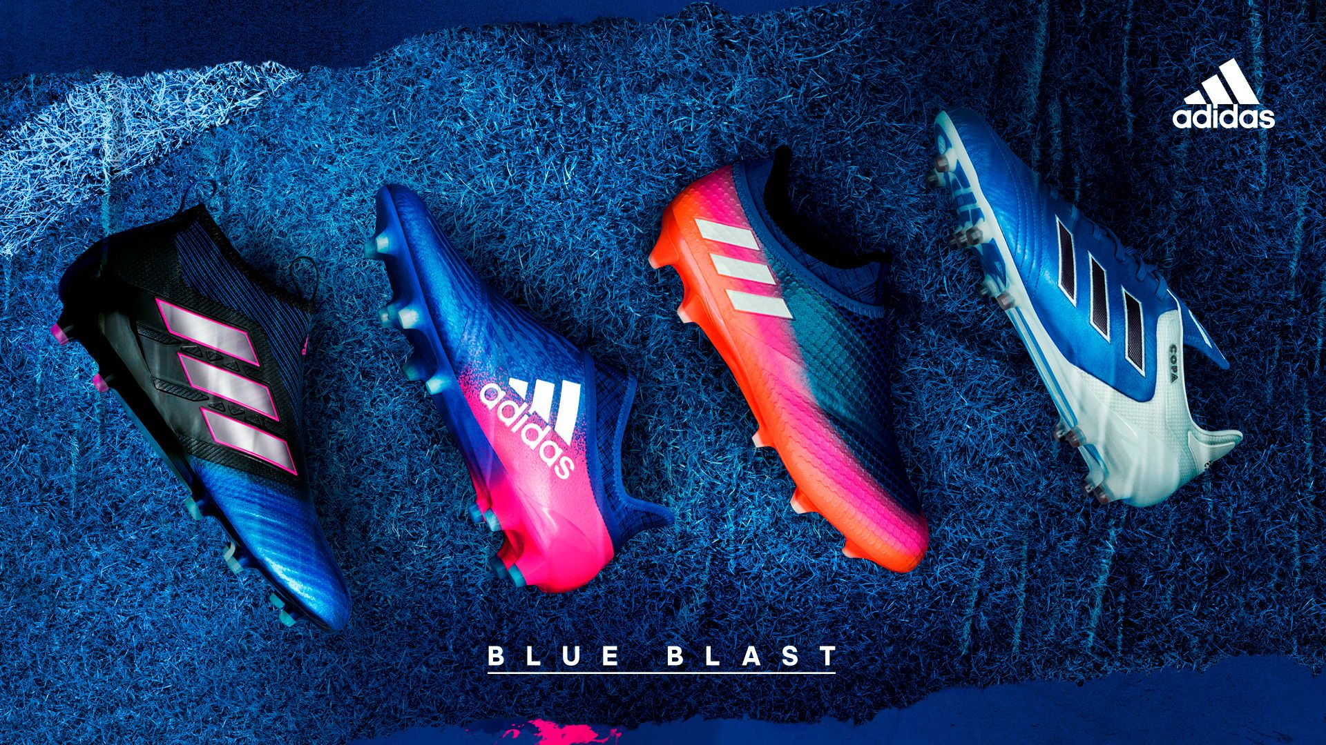 size 40 8e905 6f7ab ... free shipping prodirect soccer adidas blue blast football boot collection  football boots gloves 5ac4a eb66b