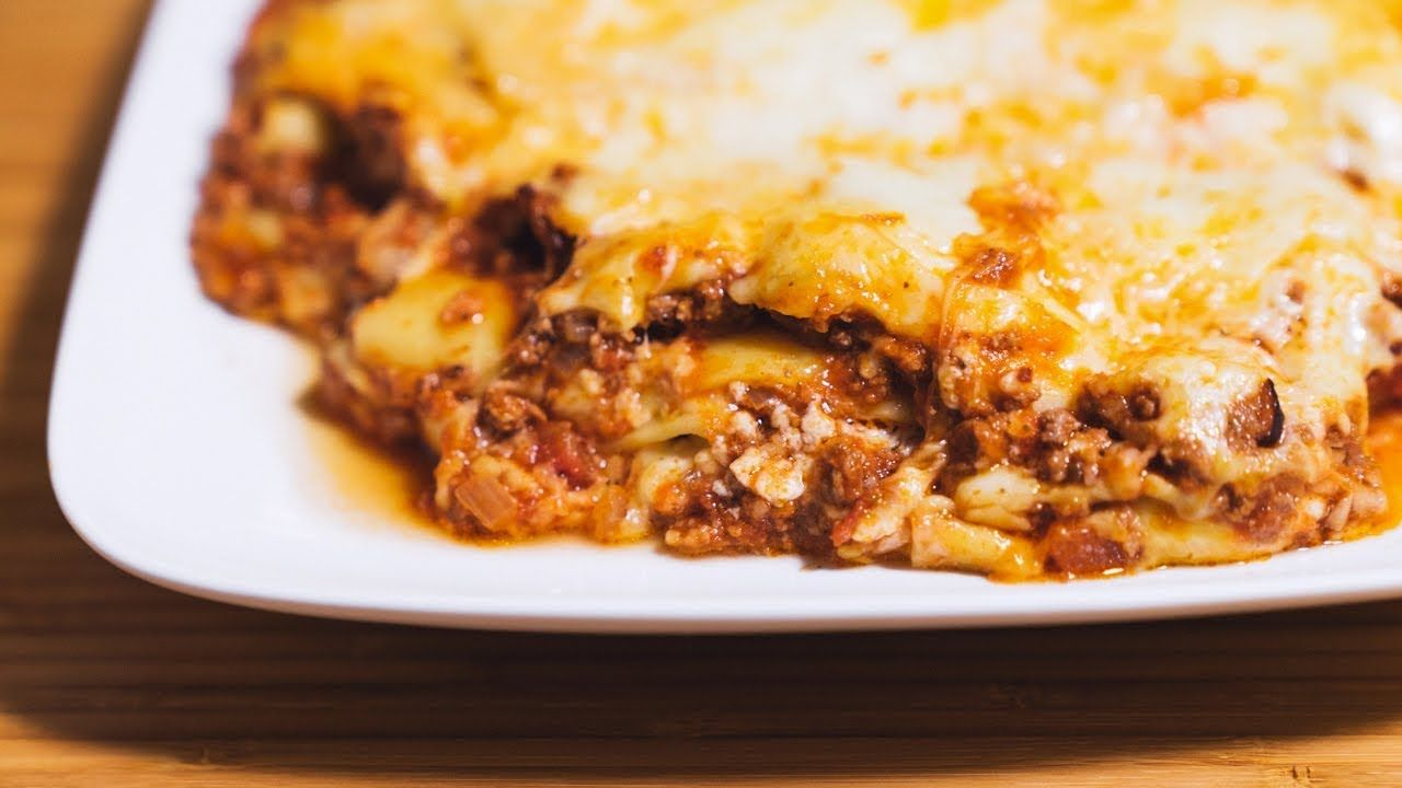 Easy Lasagna With Bolognese And Bechamel Sauce Instant Pot Youtube Easy Lasagna Lasagna Pressure Cooker Recipes