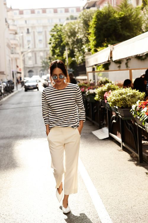 8 Ways To Style White Pants The Edit