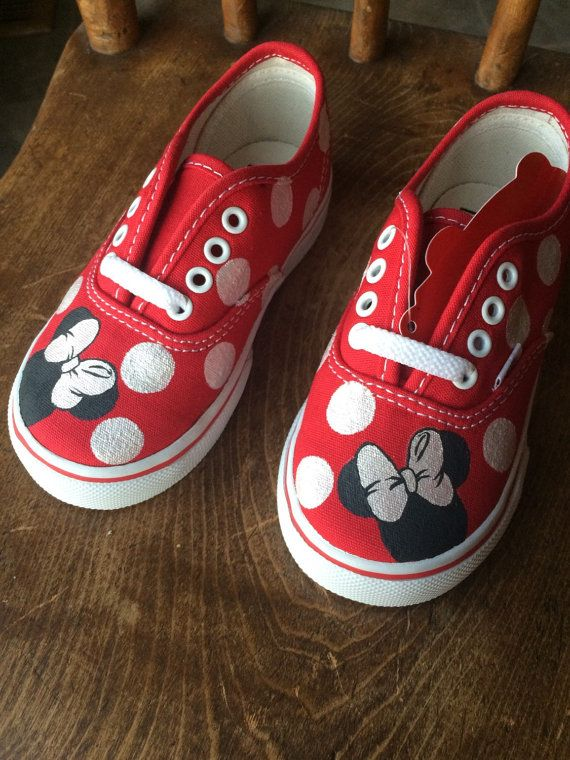 Toddler Minnie Mouse Polka Dot Vans