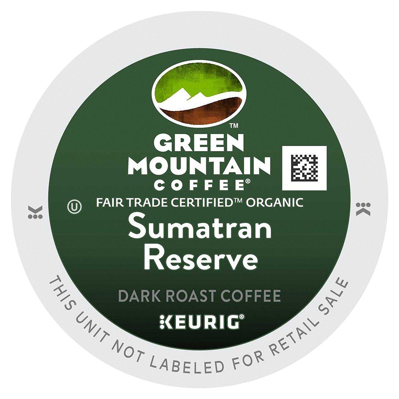 Green Mountain Fair Trade Organic Sumatran Reserve Extra