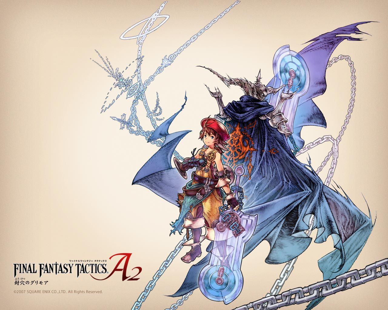 Final Fantasy Tactics A2 Wallpaper 1 With Images Final