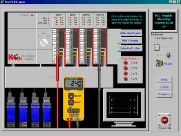 PLC Simulator free training demo download - Allen Bradley RSlogix