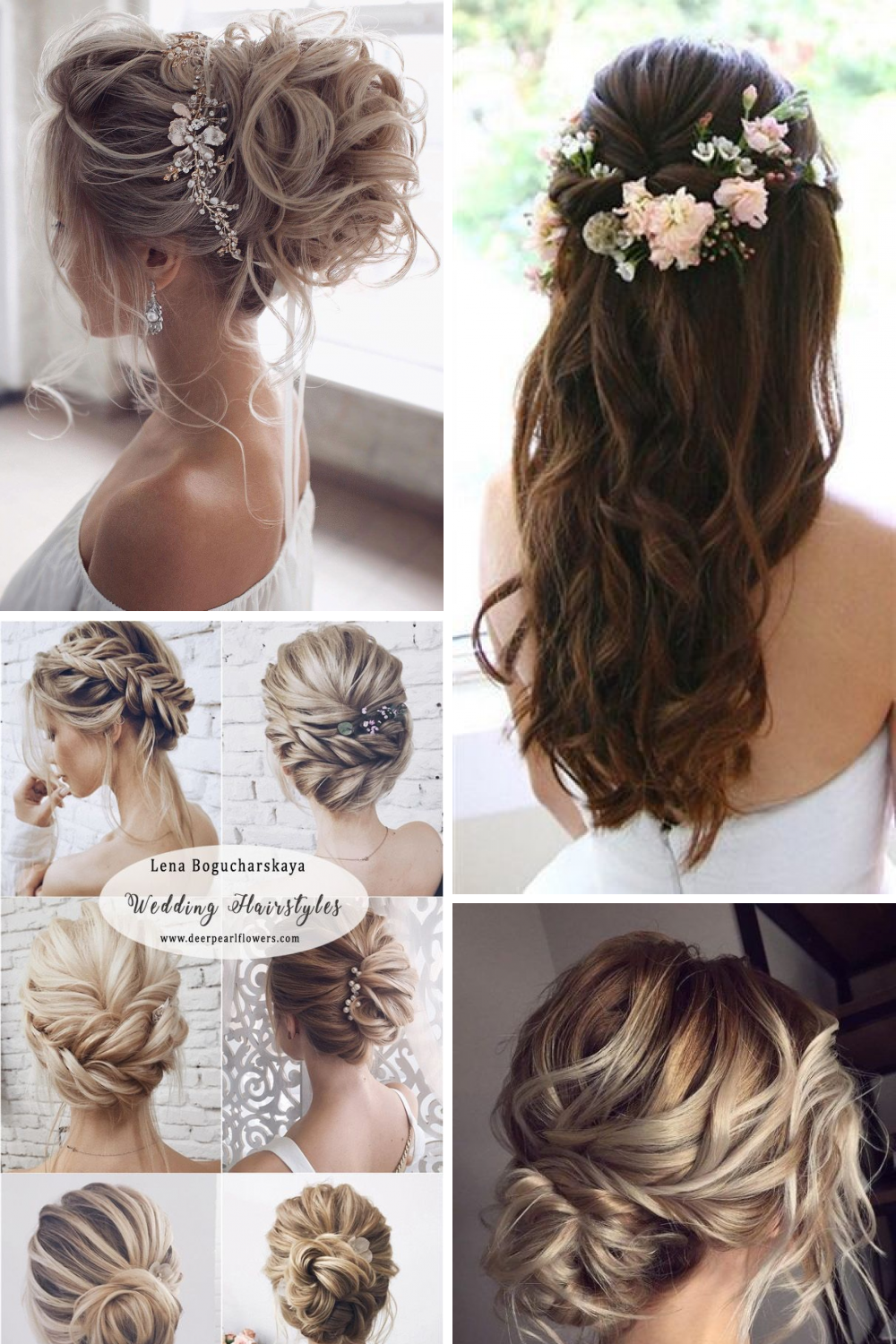 14 Stylish Wedding Hairstyle Pictures Hairstyle Pictures Stylish Wedding Weddinghairs Hochzeit Frisuren Kurz Hochzeitsfrisuren Brautfrisur