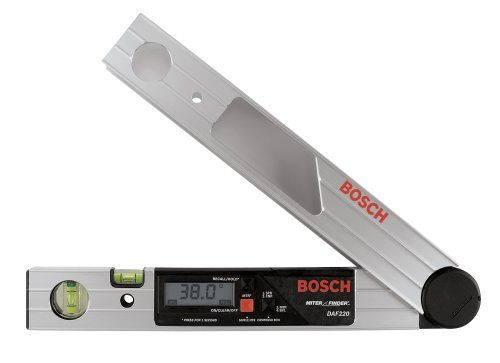 Bosch Daf220k Miter Finder Digital Angle Finder With Leg Extension And Case Bosch Http Www Amazon Com Dp Angle Finders Stud Finders Milling Machine For Sale