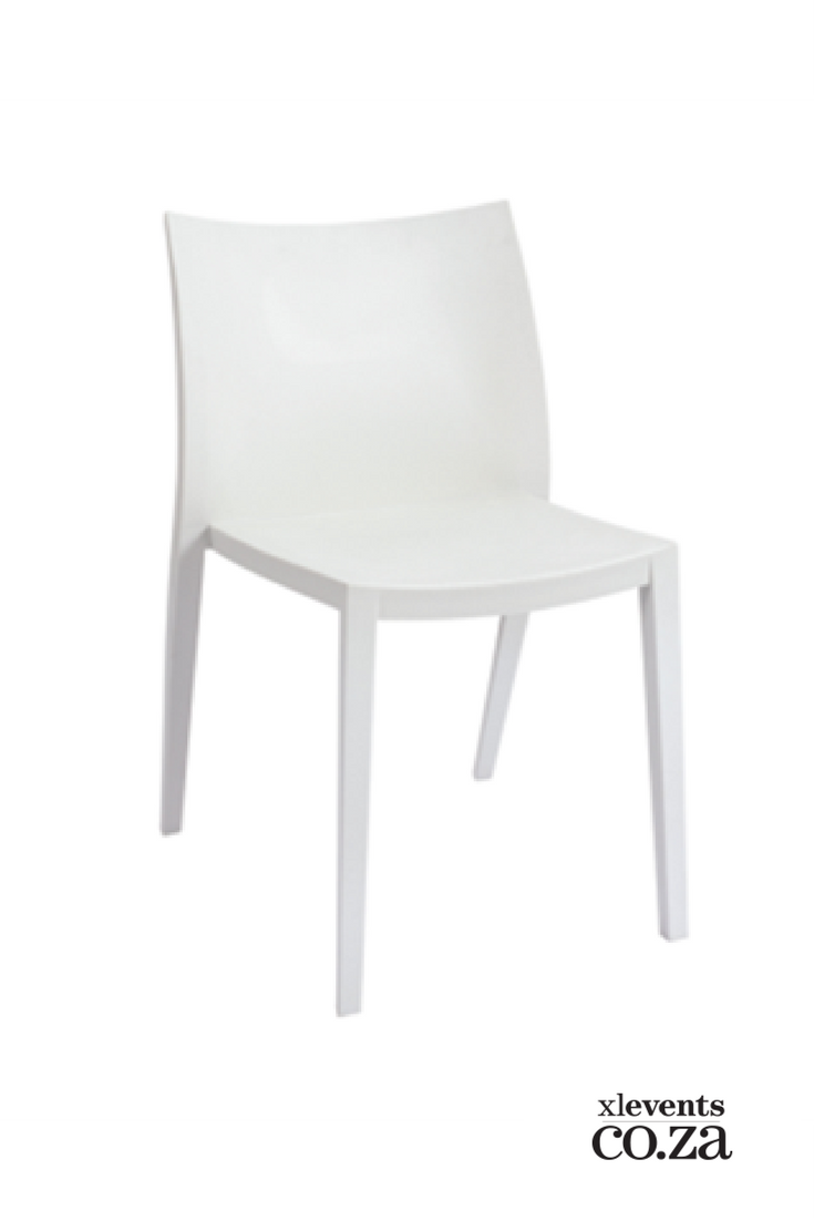 White Plastic Chair Available For Hire For Your Wedding Conference Party Or Event Browse Our Selection Of Chai Chair White Plastic Chairs Affordable Seating