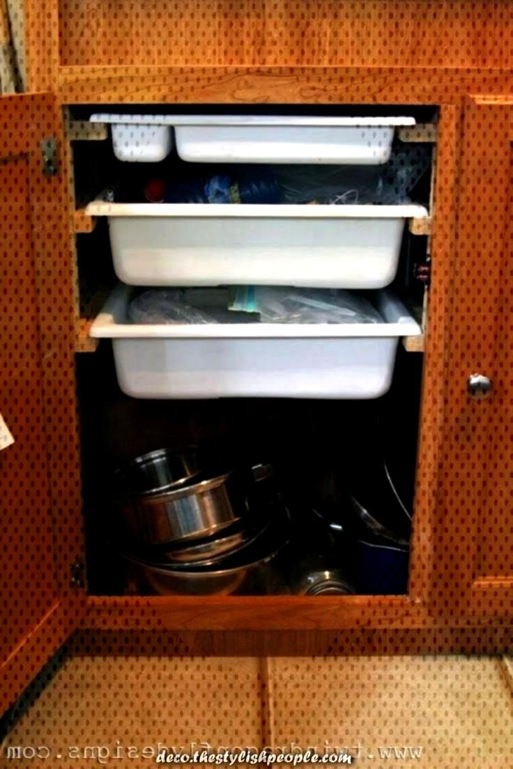 Greatly Torn Travel Trailer Organization Ideas for everyone keeping camper vans - Greatly Torn Tra