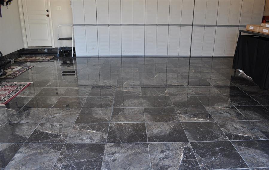Tiled Garages Google Search Garage Tile Garage Floor Tiles Tile Floor