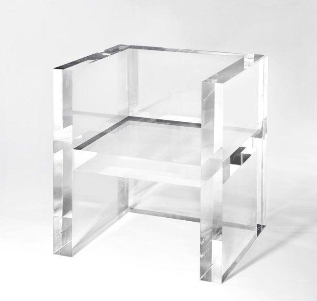 Kartell Gallery The Invisibles By Tokujin Yoshioka Mobilier Design Meuble Design Et Mobilier De Salon