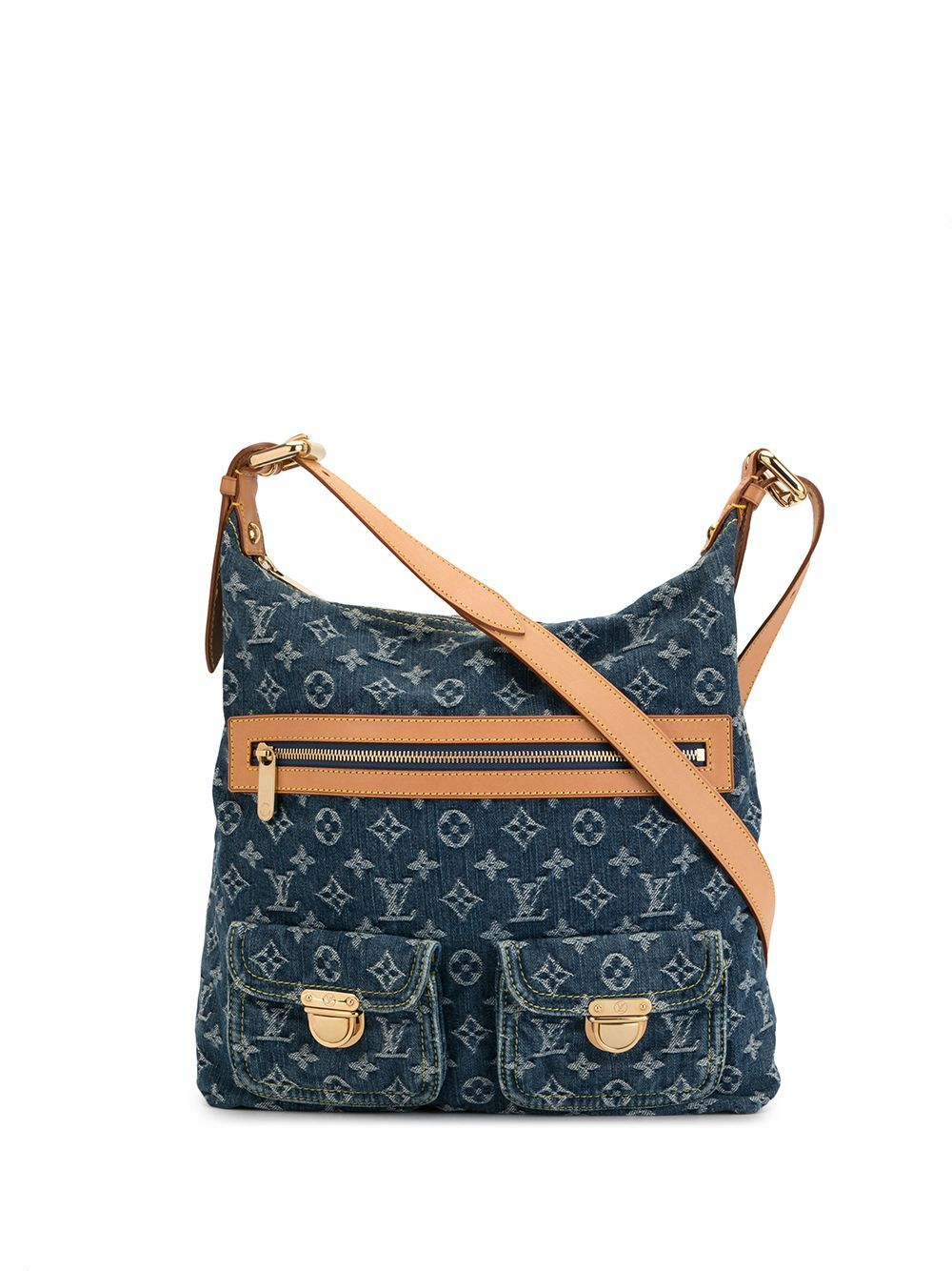 Louis Vuitton Pre Owned 2005 Baggy Gm Shoulder Bag Blue In 2020