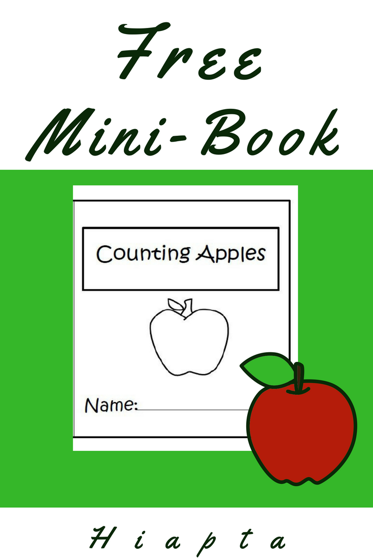 Practice counting to ten with this free mini-book from Hiapta. Just ...