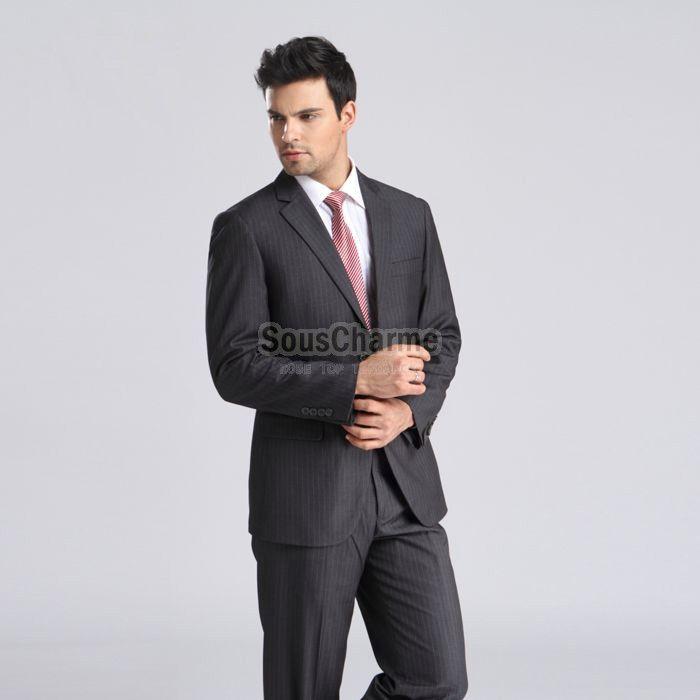 Veste grise couleur pantalon