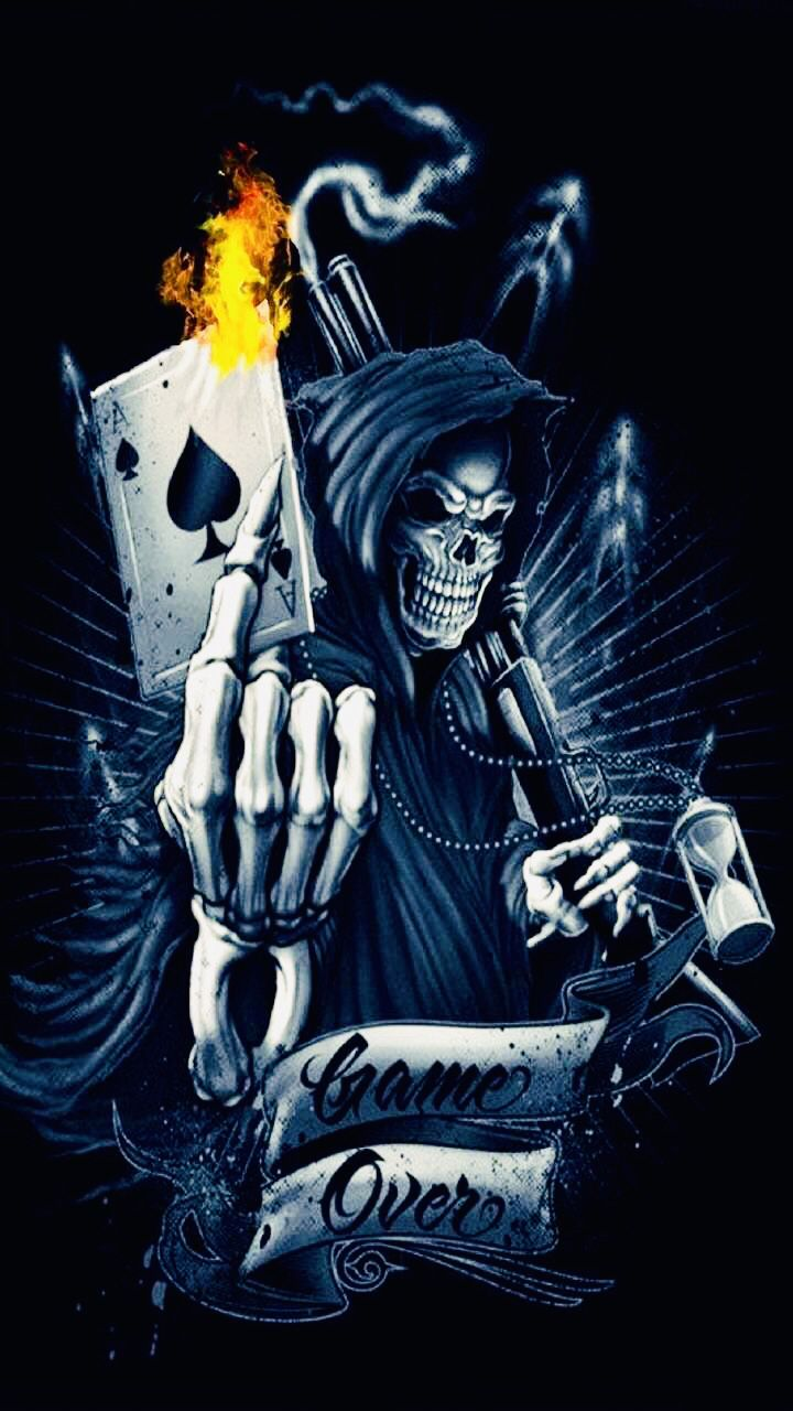 Pin By Kelvis Ambrosio On Reapers Stuff Skull Wallpaper Skull Artwork Skull Art