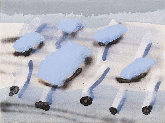 Jan Snijder, www.jansnijder.nl Zonder titel, eitempera op doek, 30 x 40 cm, 2009