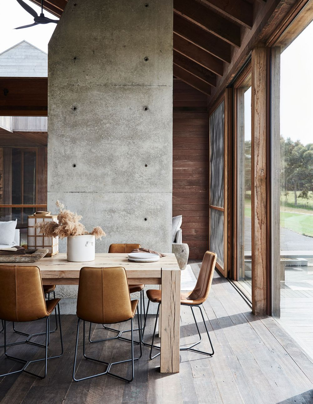 The Design Files – A Modern Country Home Inspired By The Aussie Shed. Photo – Lisa Cohen. Styling – Tess Newman Morris.