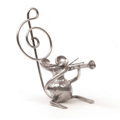 figurine musicale - souris clarinette miniature - porte-photo ... - Cuisine Fabrication Francaise