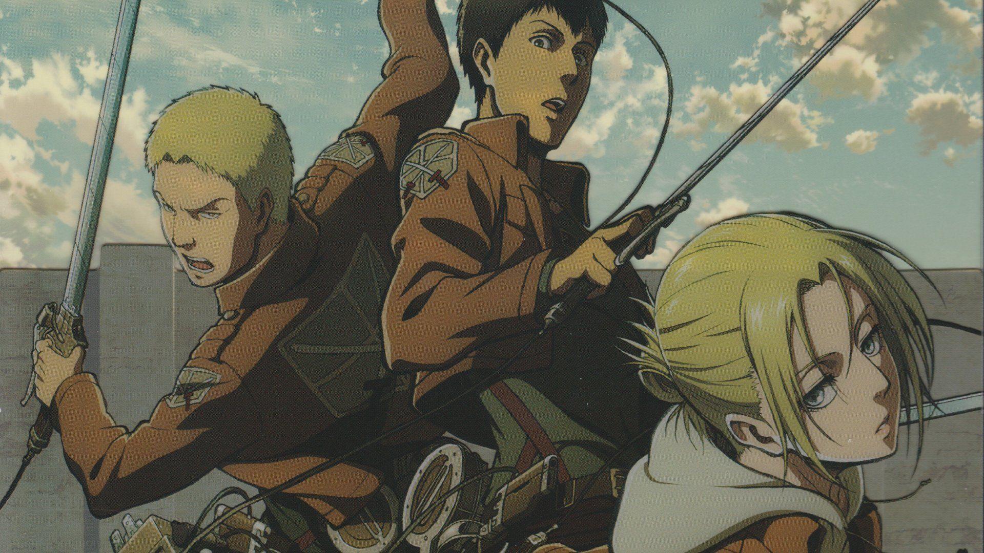 Anime Attack On Titan Annie Leonhart Reiner Braun Bertholdt Fubar Wallpaper Attack On Titan Anime Annie Leonhart