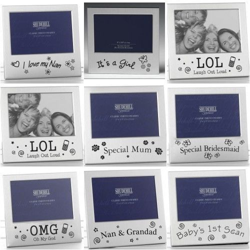 details about photo frame over 50 variations mum dad uncle auntie scan grandad nan birthdays over 50home furniturechristmas