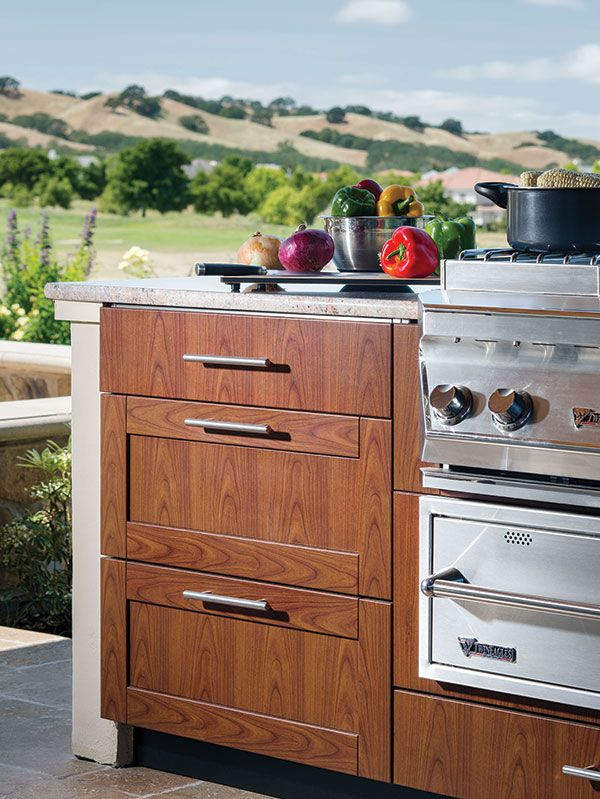 Best Outdoor Kitchen And Bbq By Brown Jordan Outdoor Available 400 x 300