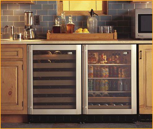 Under Counter Beverage Refrigerator