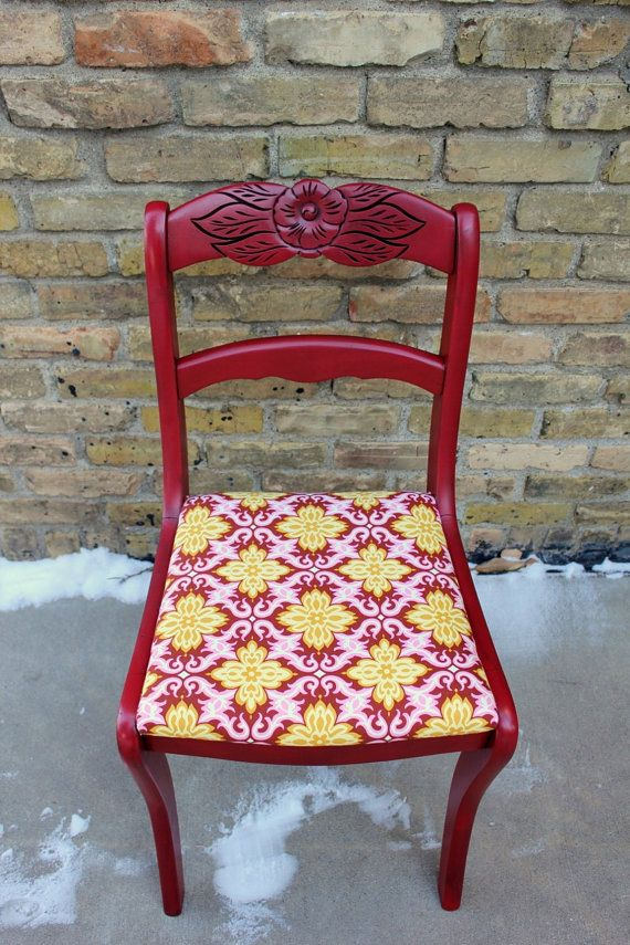 Etsy Painted Tell City Chair Amy Loves Her Furniture That Was Made In Indiana